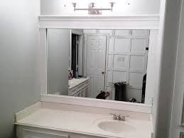 White Framed Mirror For Bathroom Large White Framed Mirror New Furniture