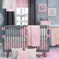 Pink And Gray Baby Bedding Ktactical Decoration