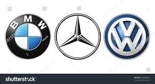 mercedes logos kiev ukraine september 21 2016 collection stock photo 490889566