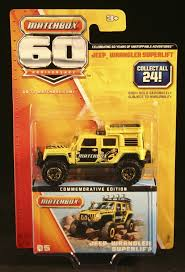matchbox jeep 2016 amazon com matchbox 60 commemorative edition 5 yellow jeep