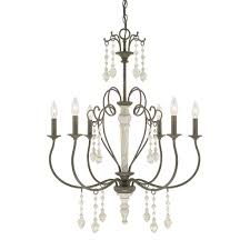 Jefferson 9 Light Chandelier Traditional - austin allen u0026 company sofia collection 6 light french country