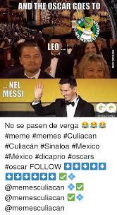 Leonardo Dicaprio No Oscar Meme - and theoscar goes to leo nel messi deutschland no se pasen de