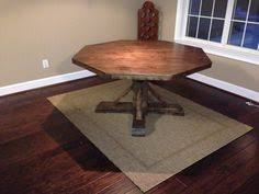Round X Base Pedestal Dining Table Do It Yourself Home Projects - Octagon kitchen table