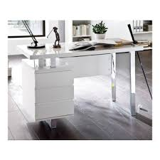 bureau laqué blanc brillant bureau laqué blanc bureau blanc laqu bureau design blanc laqu 3