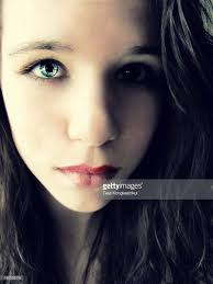 beautiful teen with blue eyes stock photo getty images