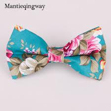 floral bowtie mantieqingway vintage floral bow tie mens business suit printed
