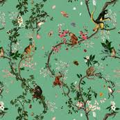 chinoiserie wrapping paper chinoiserie fabric wallpaper gift wrap spoonflower
