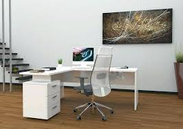 bureau d angle laqué blanc bureau blanc moderne bureau laque noir bureau laque noir et blanc