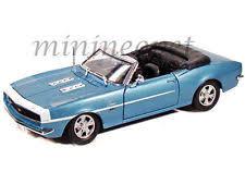 light blue camaro maisto diecast 1968 chevrolet camaro ss 396 convertible car 31257