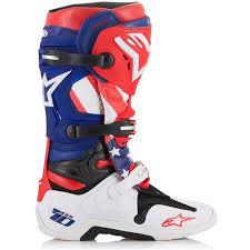motocross boots alpinestars alpinestars tech 10 limited edition nations mx boots best reviews