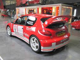 peugeot 206 rally 20100531 issoire puy de dôme musée auverdrive peugeot 206 wrc