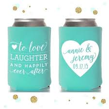 wedding can koozies can koozie wedding favors wedding can coolers discount koozies