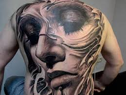 new eternal love full body tattoo showing face toycyte