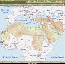 middle east map kazakhstan looklex atlas middle east africa