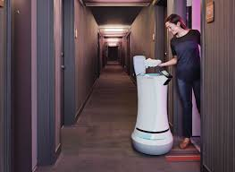 this room service robot is gaining ground in the world u0027s posh