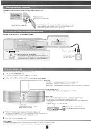 sefx80a wireless sound system model sb fx80 user manual panasonic
