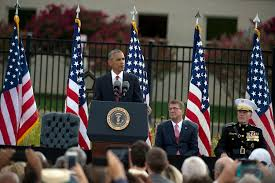 9 11 Remembrance Flag Obama Pentagon Leaders Honor 9 11 Victims At Remembrance Ceremony
