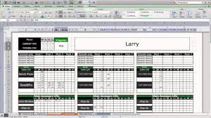 strength u0026 conditioning excel template level 1 youtube