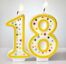 number birthday candles custom arabic number birthday candles 1 to 18 with colorful dot no