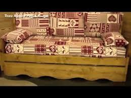 canapé fabrication tissu canapé montagne en épicéa tissus de fabrication française