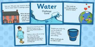Water Challenge How To Do Challenge Cards Water Challenge Cards Challenge Cards