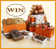 godiva autumn for thanksgiving gift tower sweepstakes