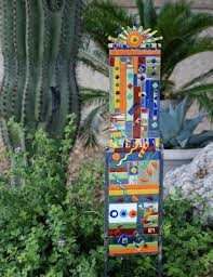 Garden Glass Art Garden Art U2013 Mary Sherwood Lifestyles