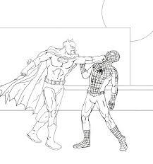 drawn spider man batman pencil color drawn spider man batman