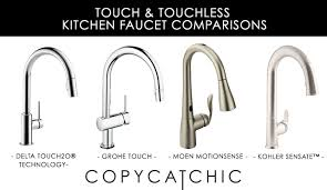 Kitchen Faucet Touchless Delta Faucet Archives Copycatchic
