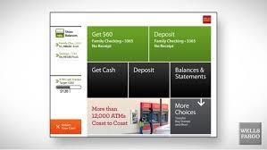 Wells Fargo Card Design Atm Banking Atm Tour Wells Fargo