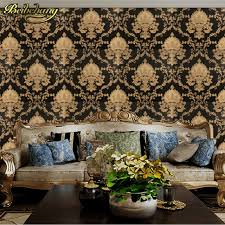 damask home decor beibehang damask wallpaper black and white classic home decor