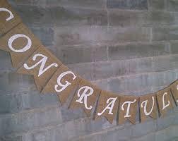 congratulations wedding banner congratulations sign etsy