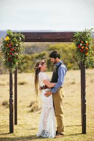 wedding arches canberra tracy phil s outdoor country wedding wedding backyard country