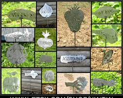 Vegetable Garden Labels by Garden Markers Etsy