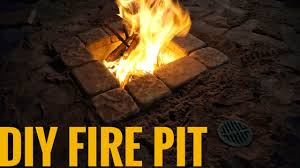 concrete fire pit exploding diy fire pit with adjustable draft for under 50 youtube