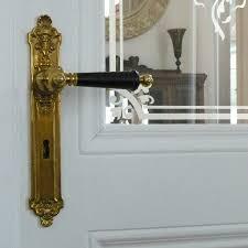Interior Door Fitting Interior Door Fitting Historism Floral Replicata Material