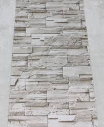 Peel And Stick Photo Wall Faux Stacked Stone Peel Stick Wallpaper Lt Grey Brick Self