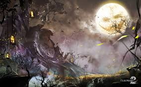 halloween raven background the shadow of the mad king guildwars2 com