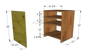 how to build a corner desk howtospecialist how to build step
