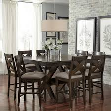 9 piece dining room set minimalist felicia 9 piece counter height dining set room at