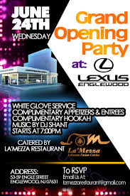 lexus of englewood nj service entry 25 by ideafuturot for design a flyer for facebook