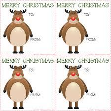 free printable reindeer activities christmas reindeer gift tags printables for kids free word