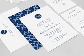 Monogram Wedding Invitations Kennedy Wedding Invitation Fresh And Modern Wedding Invitations