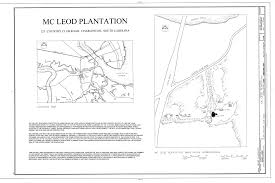 Charleston Floor Plan by File Cover Sheet With Map And Site Plan Mcleod Plantation 325