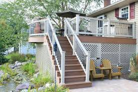 deck porches deck screen rooms storage and options under a