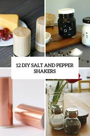 12 creative diy salt and pepper shakers for any kitchen shelterness