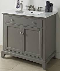 34 Bathroom Vanity Fairmont Designs 1504 V36 Smithfield Medium Gray Bathroom Vanity