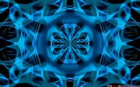 blue kaleidoscope wallpaper blue kaleidoscope crystal ball by csuk 1t on deviantart