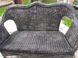 how to paint wicker furniture painted wicker painting wicker