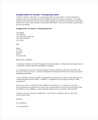 Example Of A Sales Resume by Example Of Formal Letter Formal Prospecting Letter Template